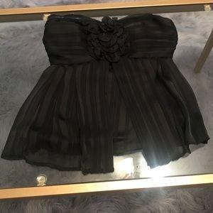 Black 2B Bebe top XS